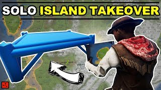 Gambar cover RUST SOLO PLAYER TAKES OVER AN ISLAND PARADISE! - RUST SOLO EP2