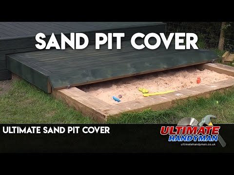 Attractive Ultimate Sand Pit Cover