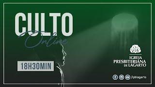 Culto online | 19/07/2020