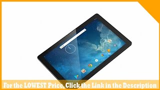 Dragon Touch 10.1 inch X10 Android Tablet 2GB RAM 16GB Nand Flash Android 7.0 Nougat, 10 Inch Quad