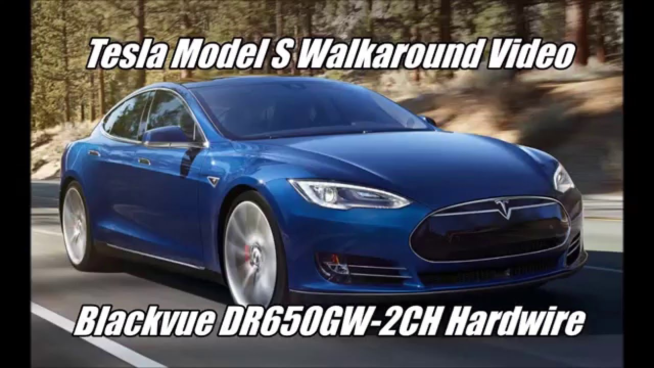 tesla model s with blackvue dr650gw 2ch dashcam. Black Bedroom Furniture Sets. Home Design Ideas