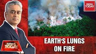 Act For Amazon | The Lungs Of Earth Are In Flames | News Today With Rajdeep