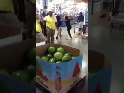 Big Walmart Fight In Buffalo Ny.
