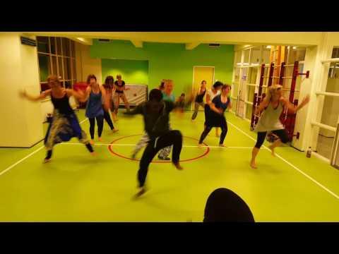 Djembe dance Amsterdam 2016