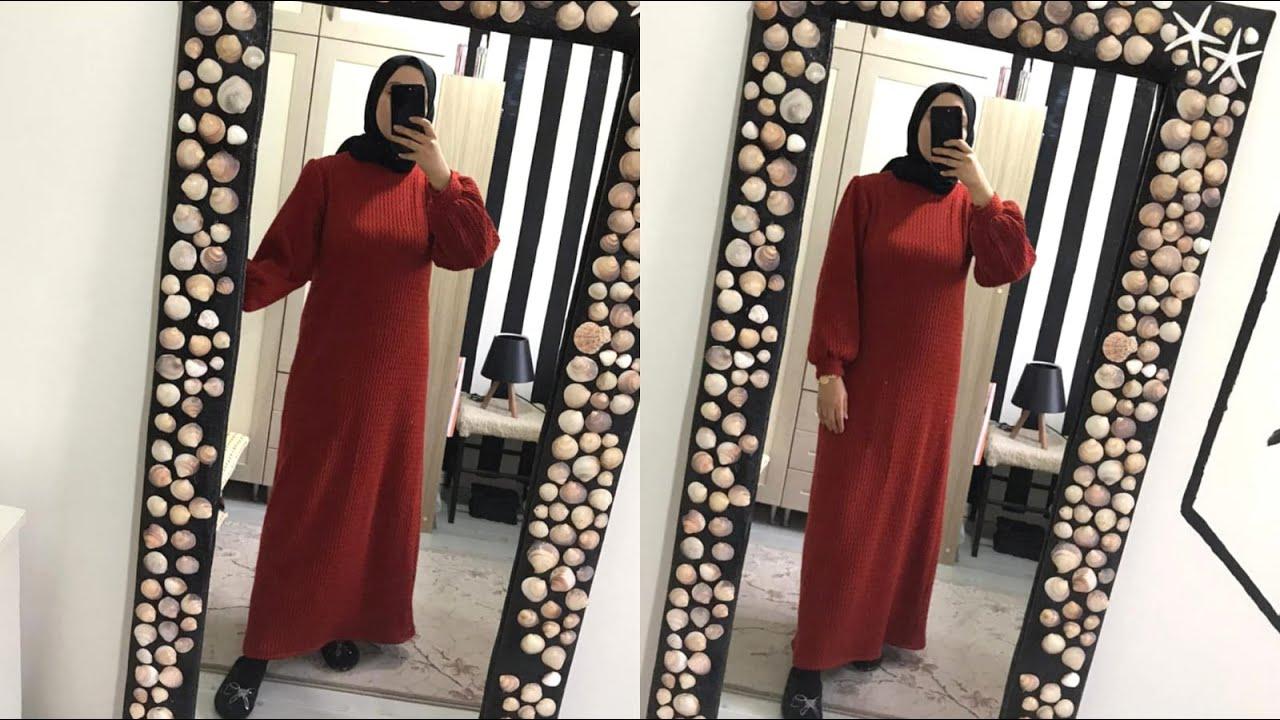 Triko Elbise Nasıl Yapılır? | Sadece 10 TL | DIY