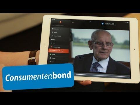 live tv kijken op je tablet how to consumentenbond