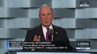 Mike Bloomberg FULL REMARKS at Democratic National Convention (C-SPAN)
