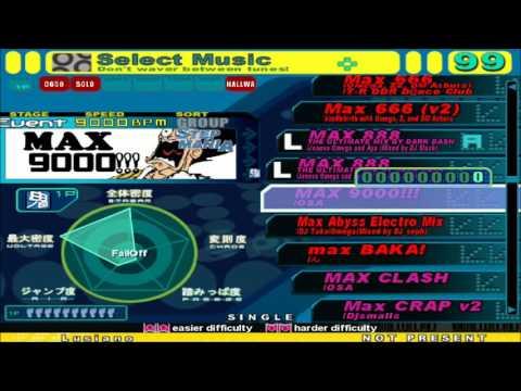 [Stepmania] MegaMAX (MAX Megapack) Full Song List