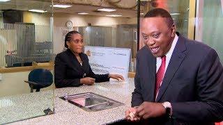President Uhuru Kenyatta dishes out new coins