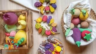 Деревянные фрукты и овощи. Обзор Радуга грез, Вальда, Сказки дерева