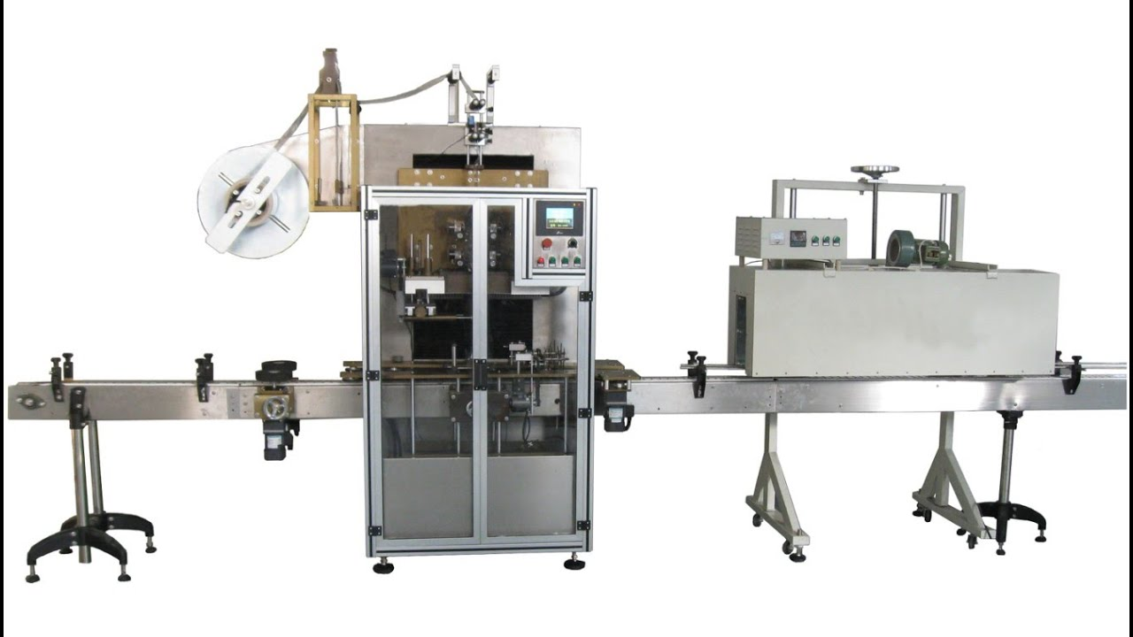 Automatic Sleeve Shrink Wrapping Labeling Machines Fully