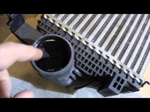 Как проверить интеркулер на герметичность видео