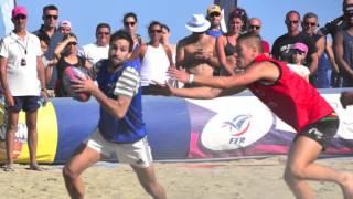 Les MINOTS beach rugby