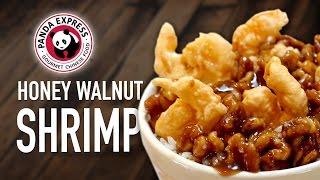 Panda Express Honey Walnut Shrimp - Feat. Mom
