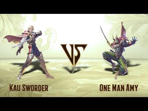 Kau Sworder (Raphael) VS One Man Amy (Yoshimitsu) - Offline Set (01.04.2020)