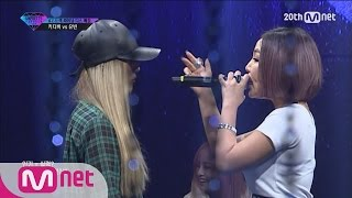 [UNPRETTY RAPSTAR2]Track#7TheQuiett Final Diss Battle Kitti B VS Yubin EP.06 20151016