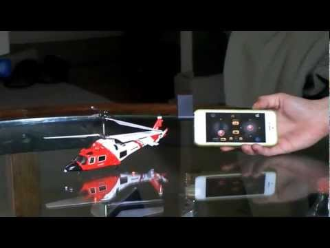 iCopter iPhone controlled RC helicopter