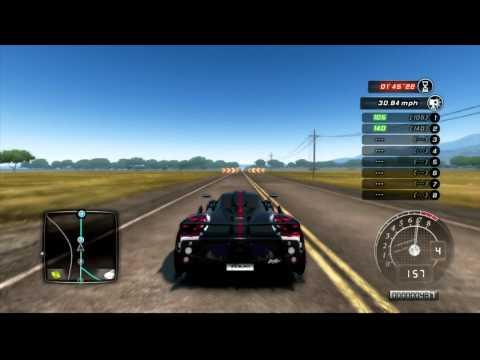 TDU2 - LordMCG - Bugatti Veyron Vs Koenigsegg Vs Zonda - Which is best?