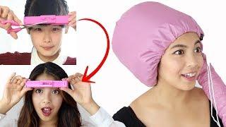 ZKOUŠÍM vtipný produkty na vlasy z Aliexpressu