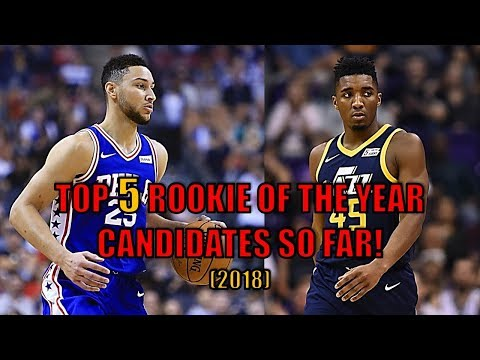 Top 5 NBA Rookie of the Year Candidates So Far! (2018)