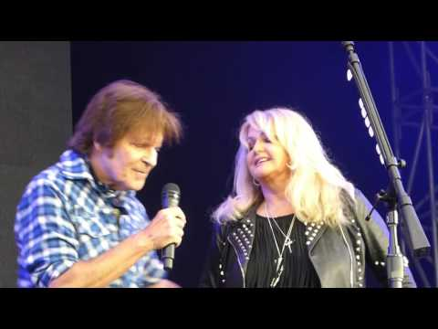 John Fogerty & Bonnie Tyler - Have you ever seen the rain [ CH Hinwil - 25 - 6 - 2017 ]r