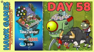 Plants vs Zombies 2 Time Twister World Day 58 [Player's Choice]