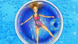 видео барби куклы как сделать бассейн