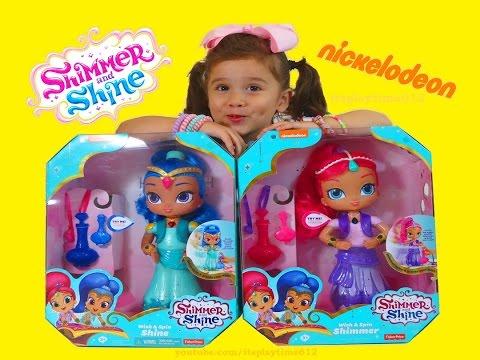 Shimmer and Shine BOOM ZAHRAMAY New Dancing Dolls Nick Jr   itsplaytime612