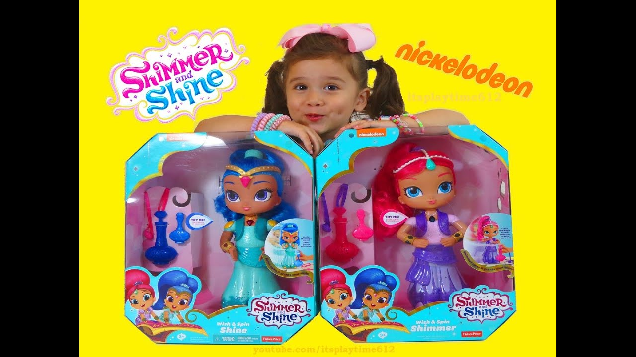 SHIMMER AND SHINE Itsplaytime612 BOOM ZAHRAMAY New