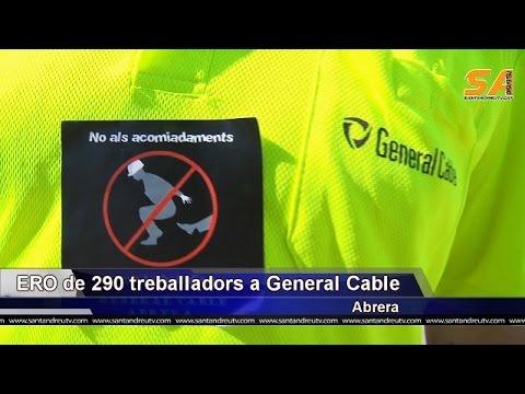 170615 ERO de 290 treballadors a General Cable d'Abrera