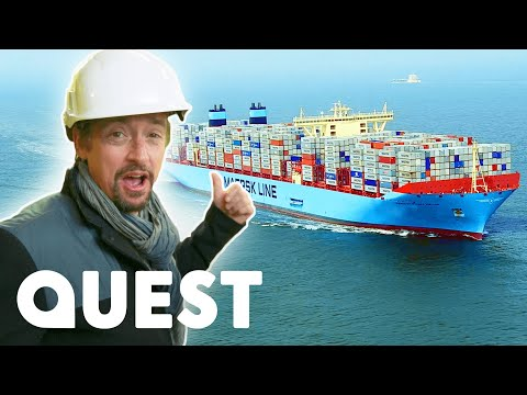 Secrets Of The Marie Maersk Container Ship | Richard Hammond's Big