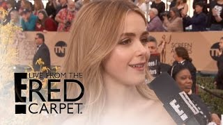 Kiernan Shipka Reveals Tips She Got From January Jones | Live From the Red Carpet | E! News