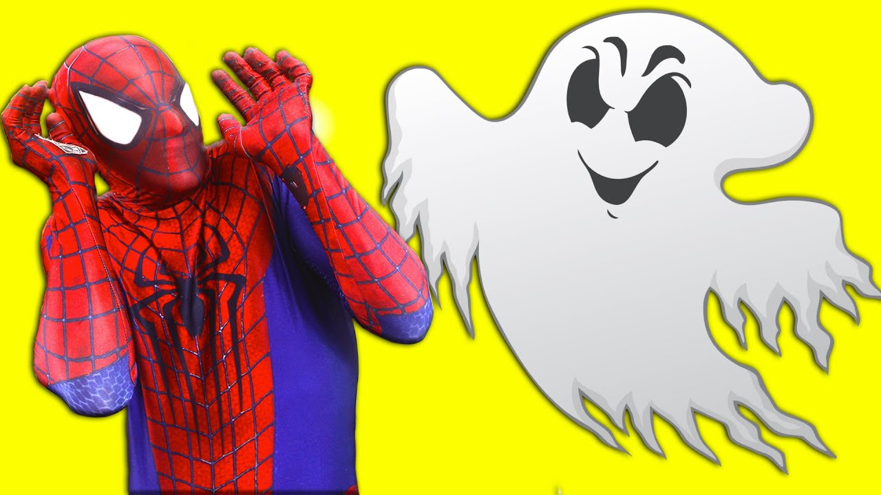 SPIDERMAN & Frozen Elsa Vs Ghost FIGHT VS JOKER PRANK W/ Hulk - Funny Superheroes In Real Life Movie