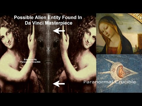 Alien Entity Found In Da Vinci Masterpiece