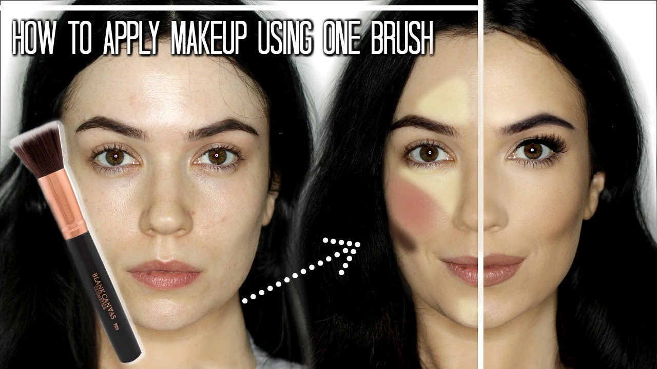 Makeup Tutorial | Full Face of Makeup Using ONE Brush