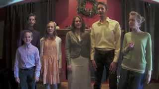 "Siblings sing ""Because He Lives"" a cappella (The Garms Family)"
