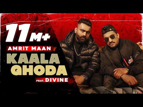 Kaala Ghoda (Official Video)| AMRIT MAAN x DIVINE | Latest Punjabi Song 2021 | New Punjabi Song 2021