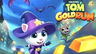 Witch Angela Raccoon Battle – Talking Tom Gold Run (Talking Tom and Friends By Outfit)