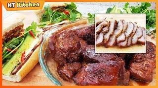 XÁ XÍU HỘI AN Thơm Ngon Nức Tiếng - Bí Quyết Ướp Thịt Đúng Vị Hội An Để Ăn Cao Lầu - BÁNH MÌ
