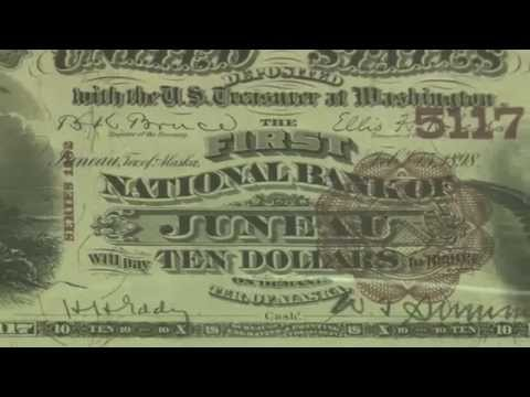 Large Size Serial #1 National Bank Note Collection on Display at Memphis 2014. VIDEO: 5:50.