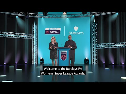 Barclays FA WSL Awards | Ian Wright and Kelly Smith | #AllToPlayFor