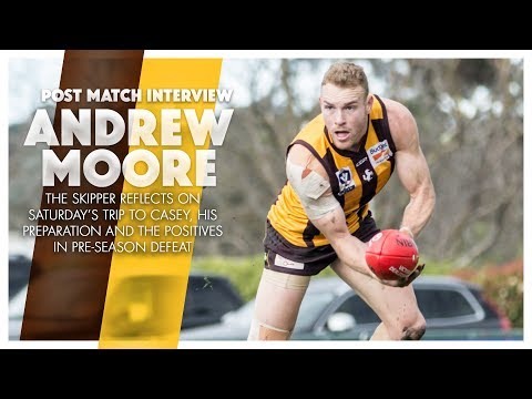 Practice Match vs Casey Demons: Interview with Andrew Moore