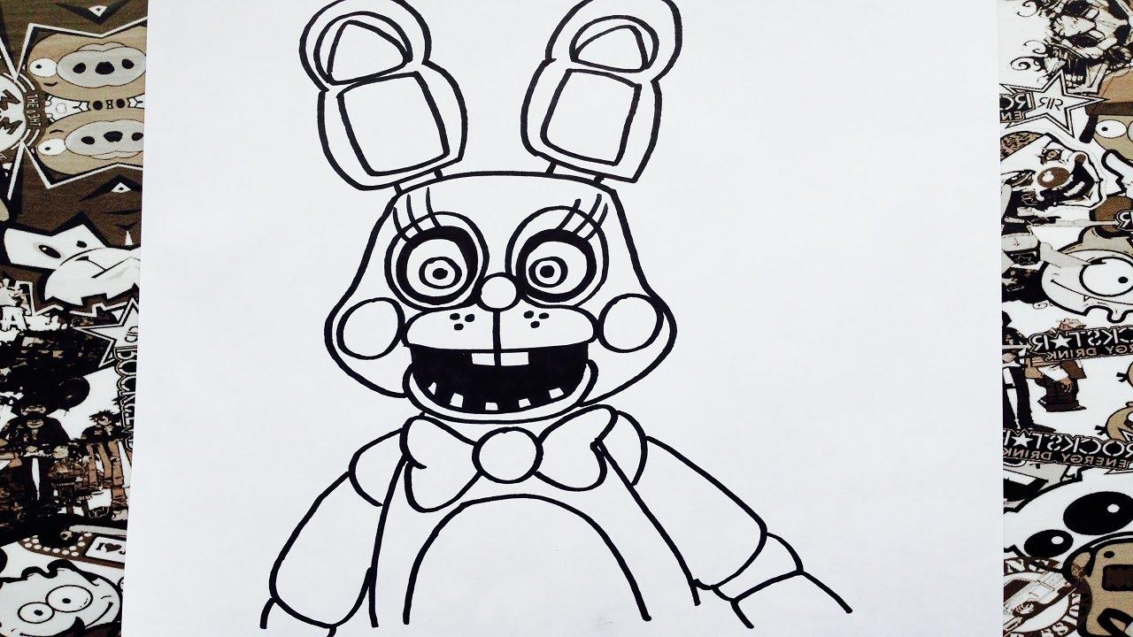 Dibujos Para Colorear De Five Nights At Freddys Chica