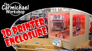 3D Printer Enclosure for a Folger Tech Prusa i3 RepRap Kit
