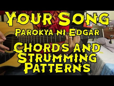 Your Song - Parokya ni Edgar - Guitar Tutorial/Lesson (includes Chords and Strumming Patterns)