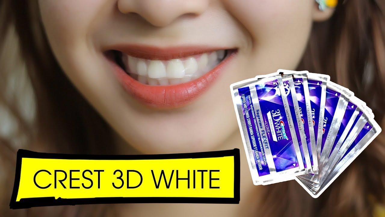REVIEW VÀ CÁCH DÙNG MIẾNG DÁN TRẮNG RĂNG CREST 3D WHITE