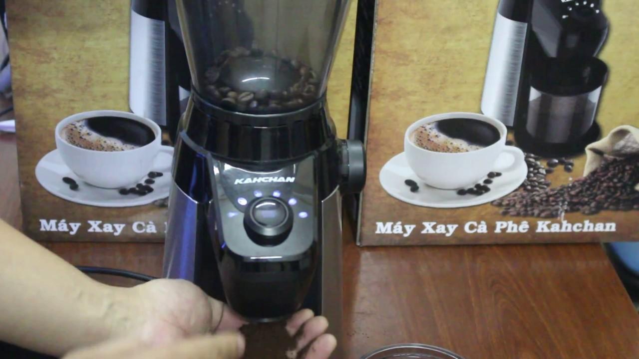 hướng dẫn cách sử dụng máy xay cafe chuyên nghiệp kahchan