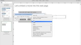How to upload and embed movie into web page using HTML Egg Pro