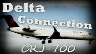 sexy delta connection crj 700 lga