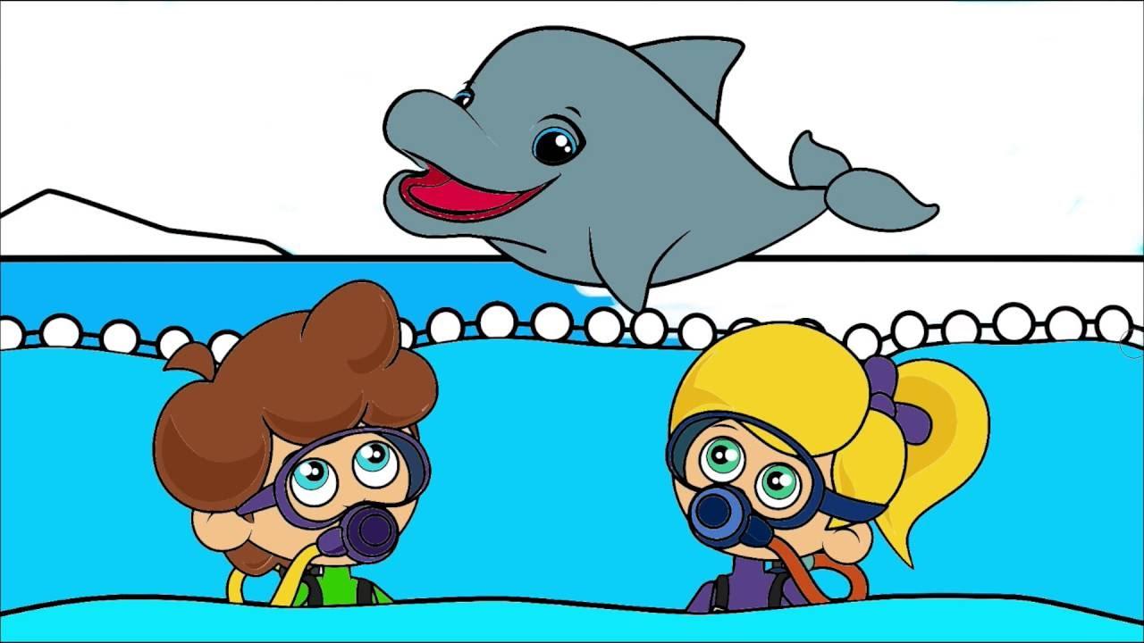 Sevimli Dostlar çizgi Film Karakter Boyama Sayfası 2 Minik Eller